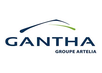 Logo GANTHA - Groupe Artelia